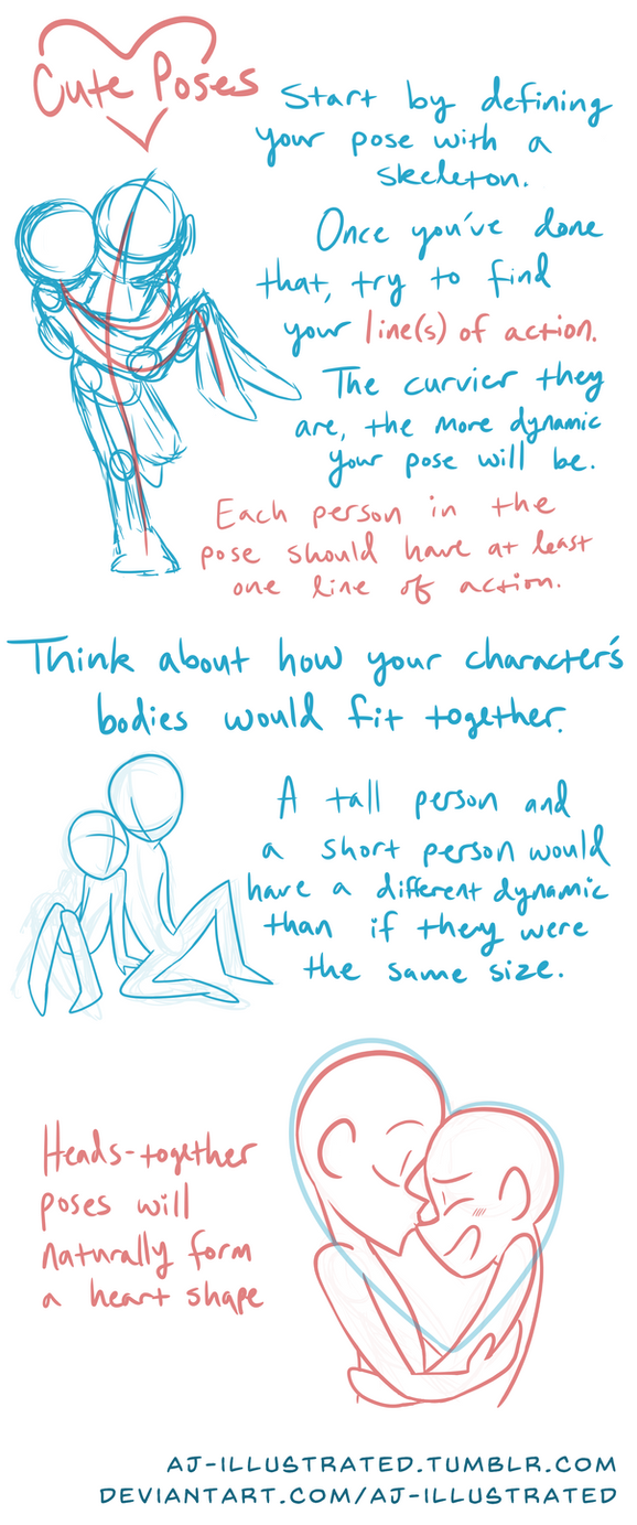 Tutorial - Cute Poses by AJ-illustrated