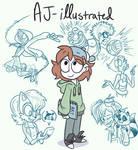 AJ-illustrated