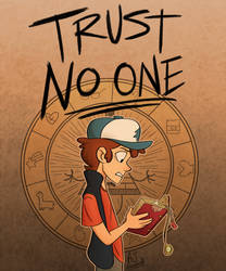 Trust No One by AJ-illustrated