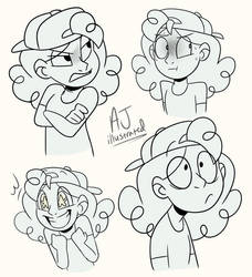 Remi - Expressions by AJ-illustrated