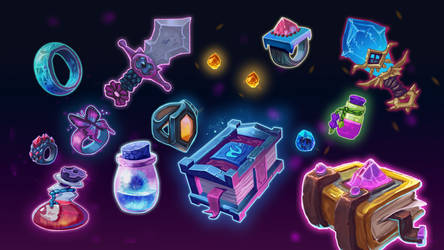 Magic Icons by JovanaBaleticArt