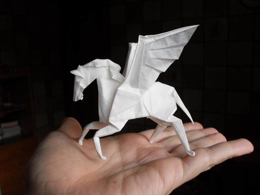 Origami Pegasus by Orestigami