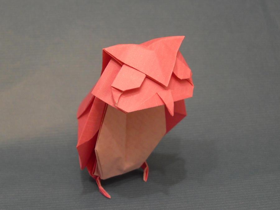 Origami Scops Owl By Orestigami