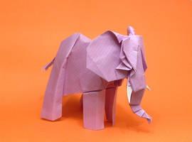 Origami Elephant by Orestigami