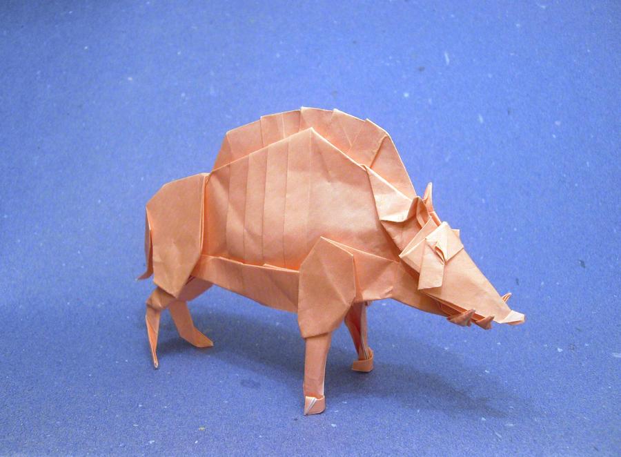 Origami Divine Boar by Orestigami