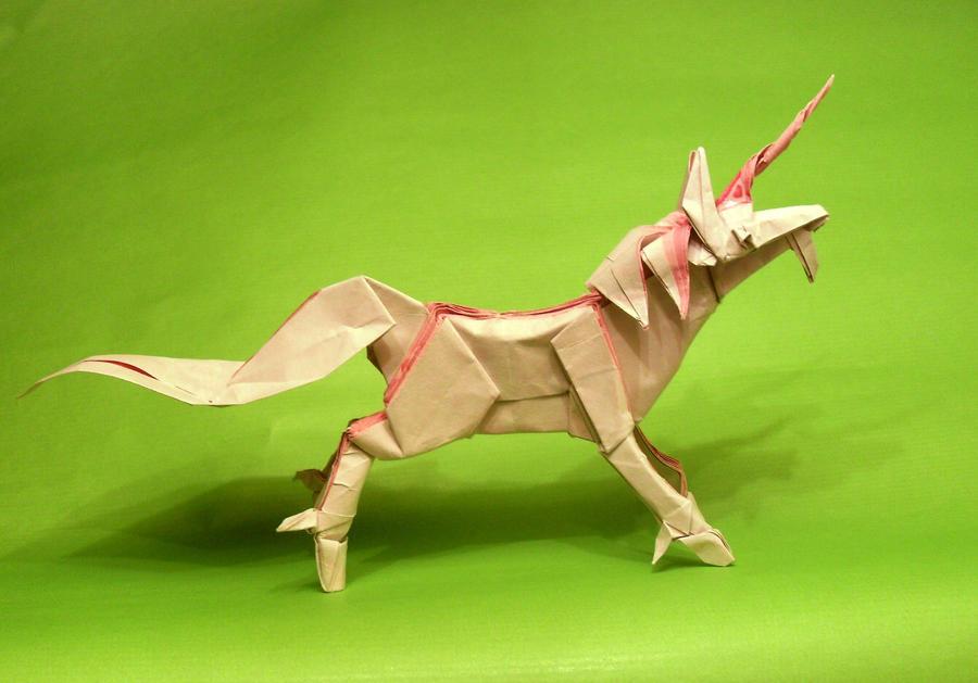 By Satoshi Kamiya Origami Unicorn Diagrams Auto Electrical Wiring