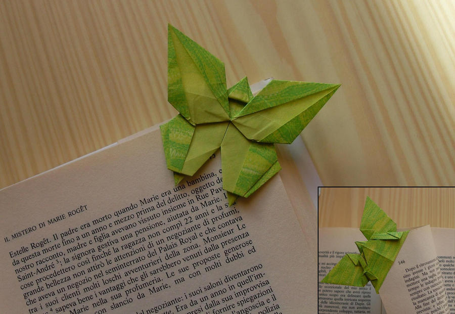 Origami Butterfly Bookmark By Orestigami