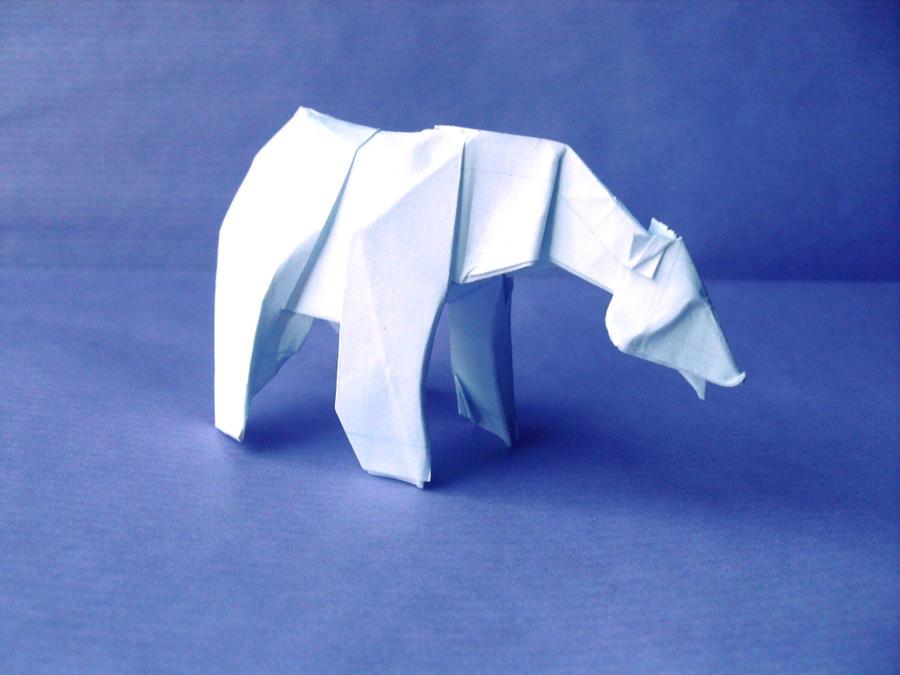 Origami Polar Bear by Orestigami on DeviantArt - photo#11