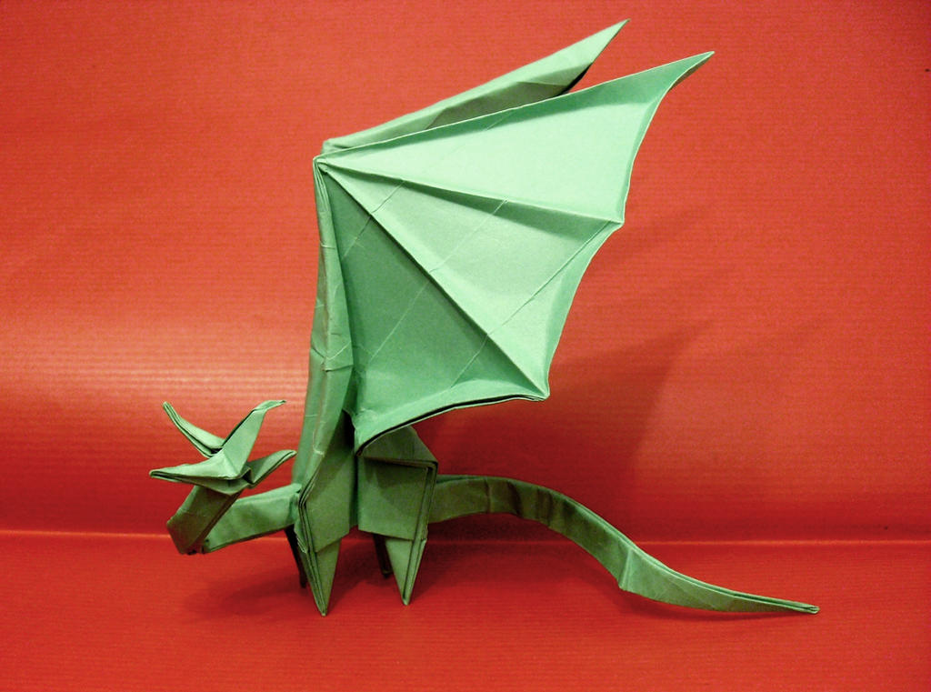 Origami Simple Dragon By Shuki Kato