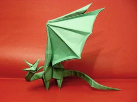 Origami Simple Dragon by Orestigami