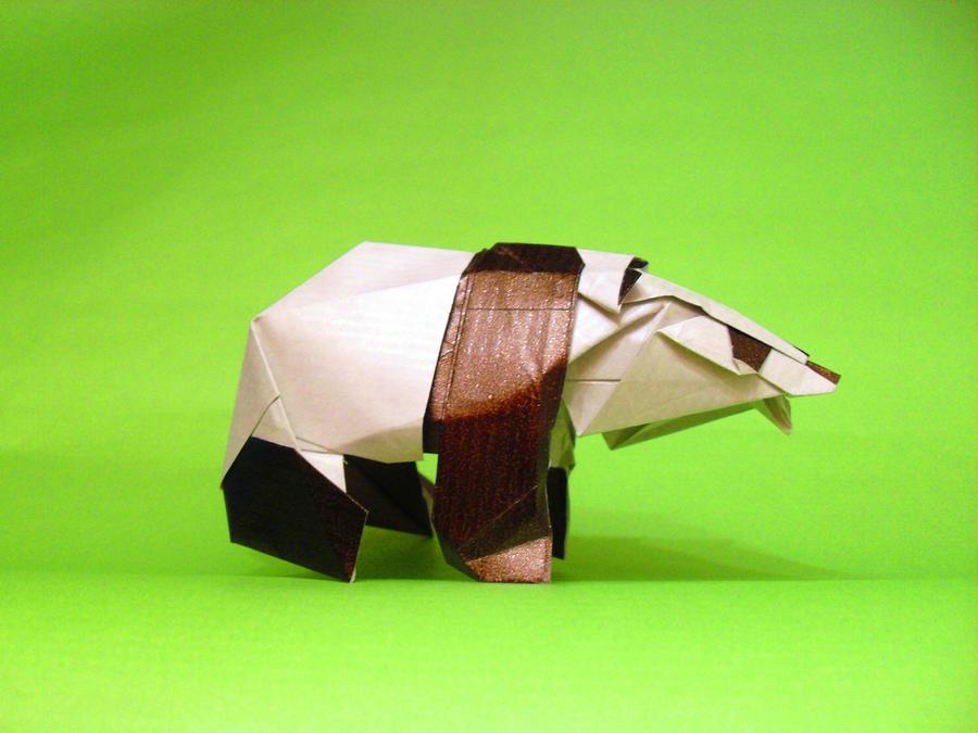 Origami Panda by Orestigami