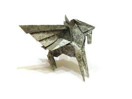 Origami Pegasus 2 by Orestigami