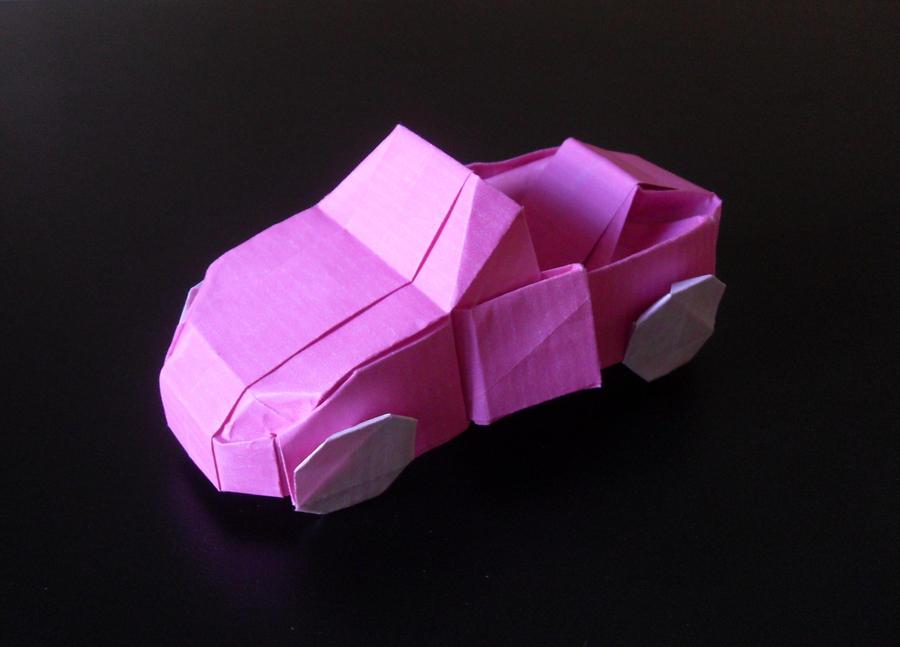 origami car by orestigami on deviantart