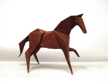 Nth origami horse