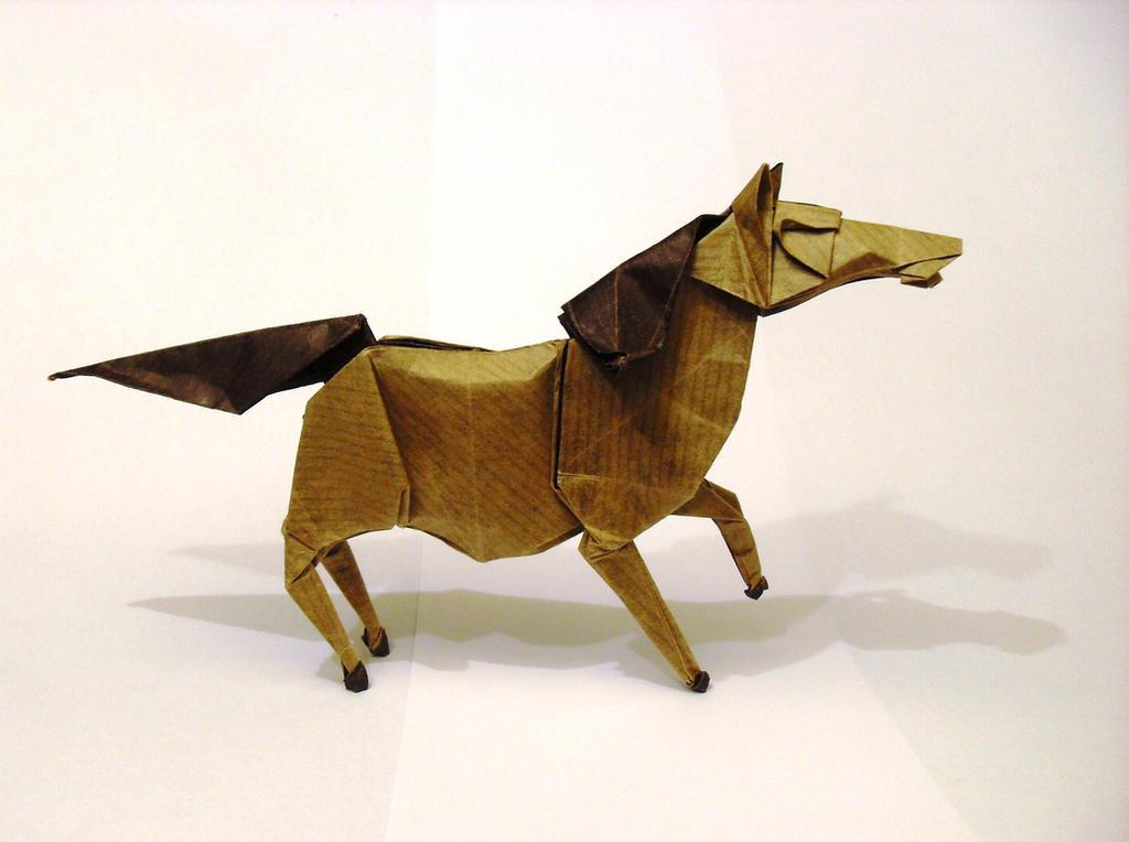 Origami Wild Horse By Orestigami