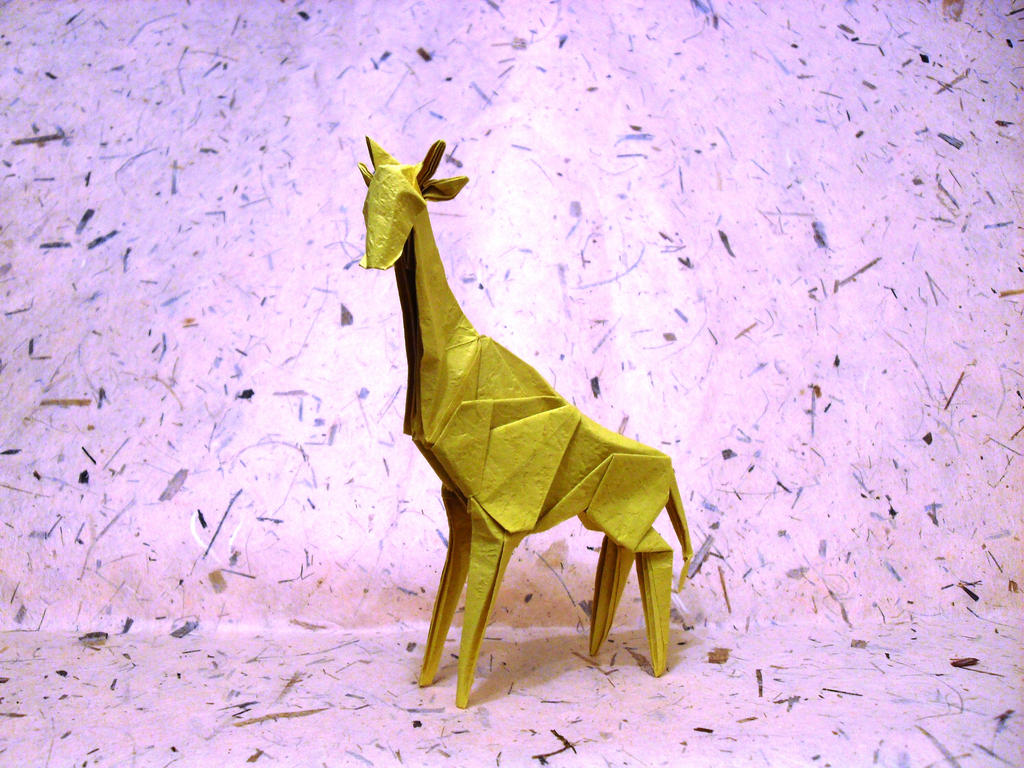 Origami Giraffe by Orestigami on DeviantArt - photo#7