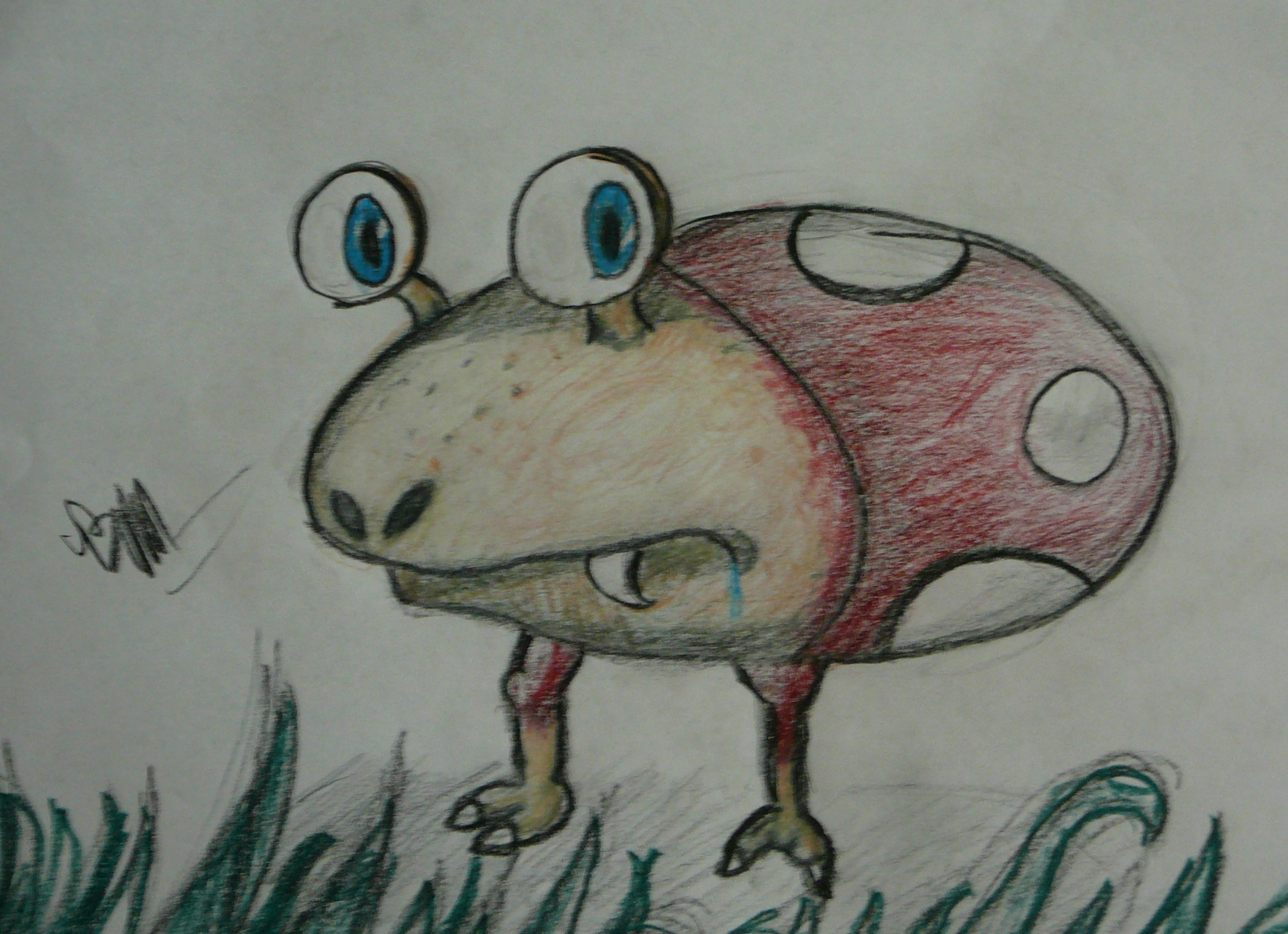 pikmin bulborb coloring pages - photo#38