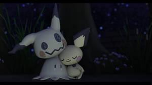 |Keyshot3D|Pokemon| More Than a Mask by UniversalKun