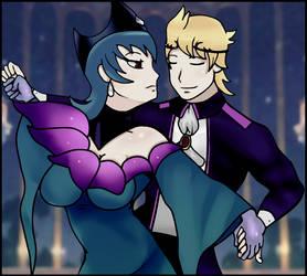|PKMN|SoulShipping| Magic Queen and Spirit King by UniversalKun
