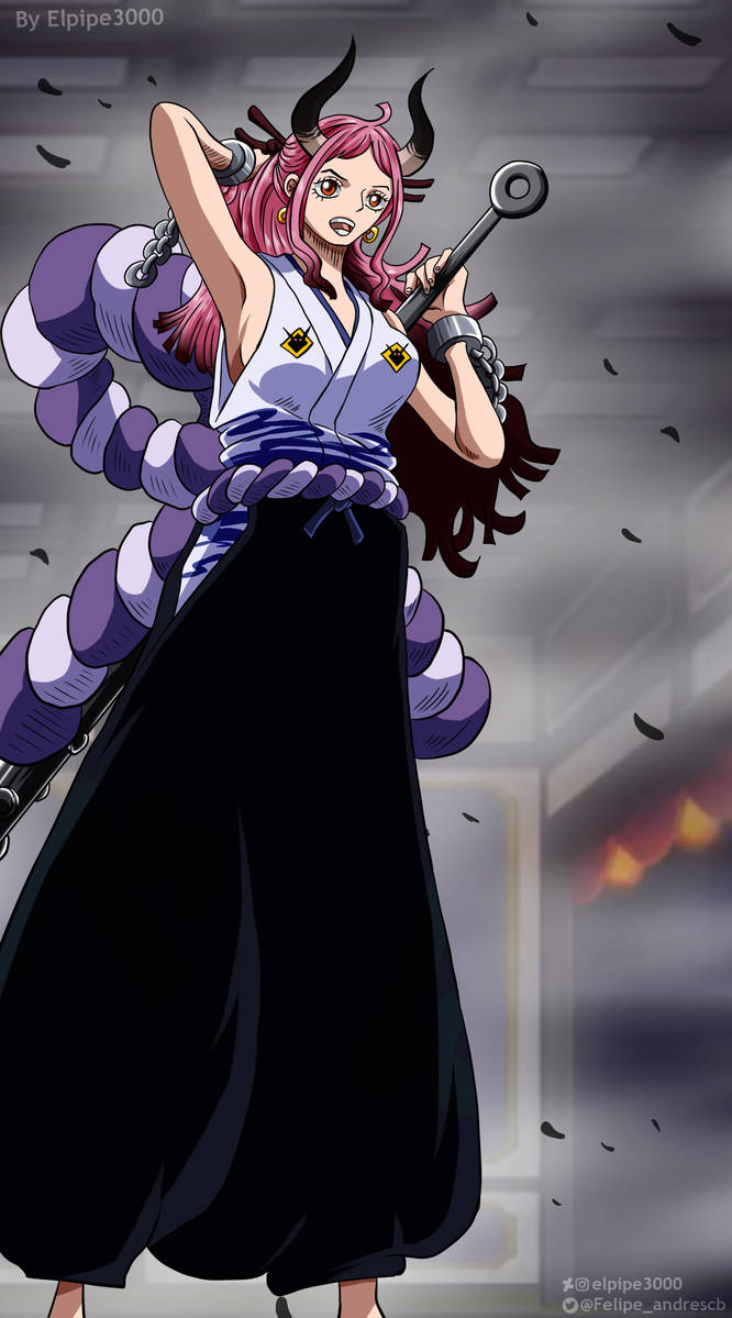 One Piece 984 - Yamato by elpipe3000 on DeviantArt