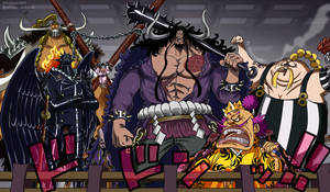 One Piece 984 - Piratas Bestias