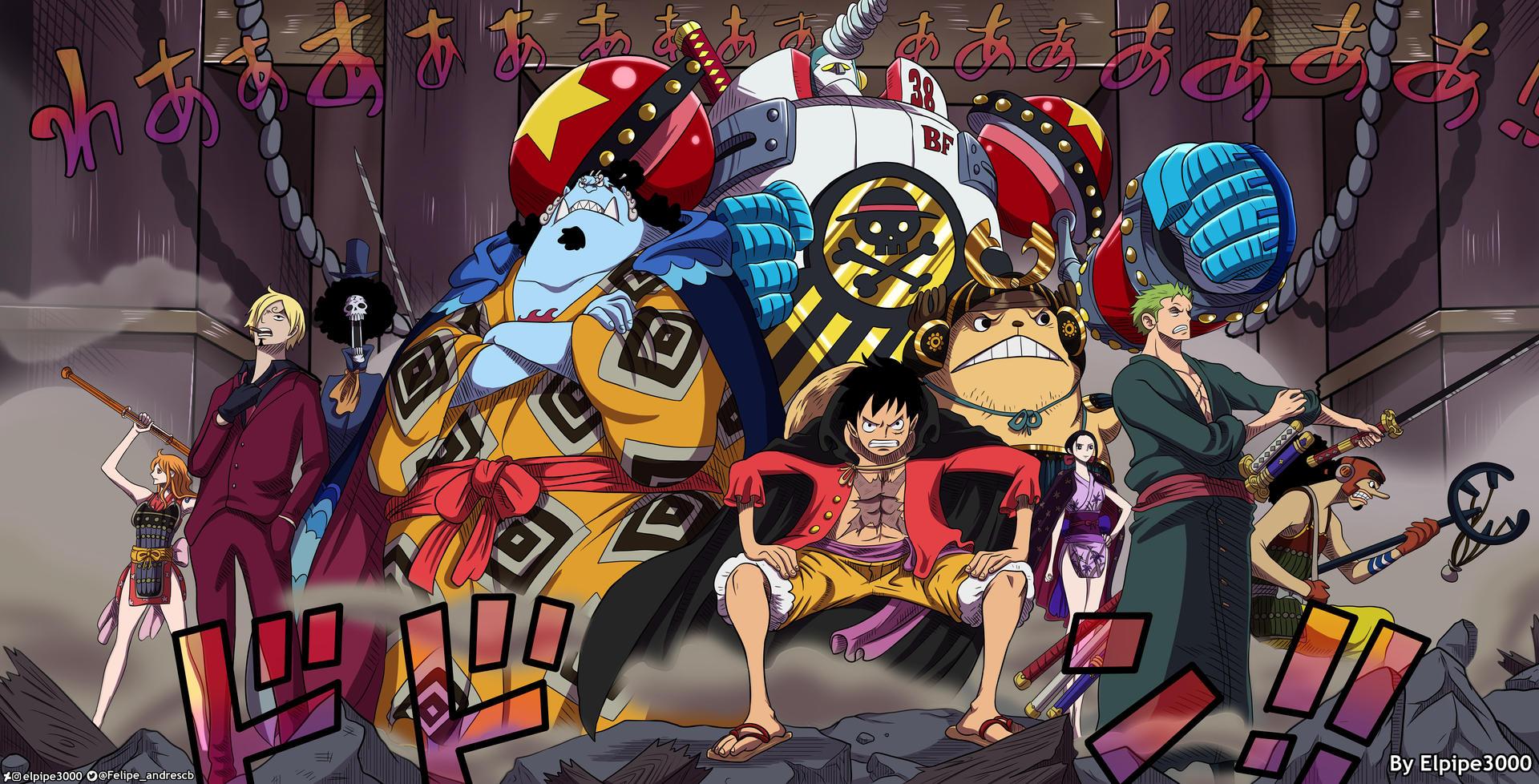 One Piece 989 - Mugiwaras