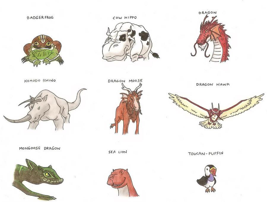 Avatar Animals I by Trooper1212 on DeviantArt