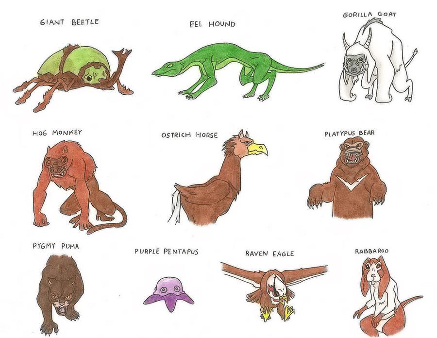 Avatar Animals IV by