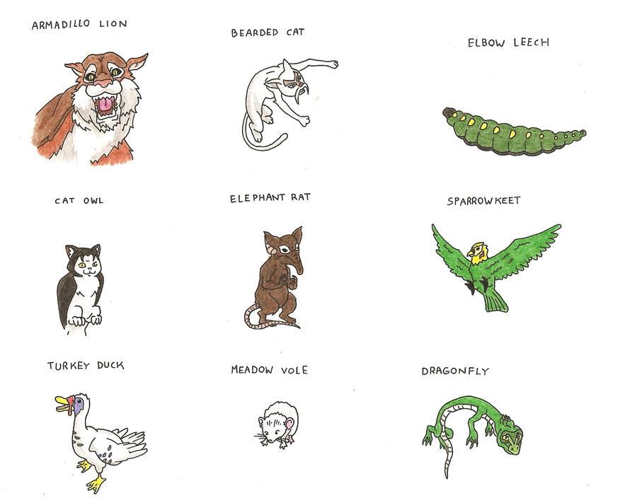 Avatar Animals V by Trooper1212 on DeviantArt