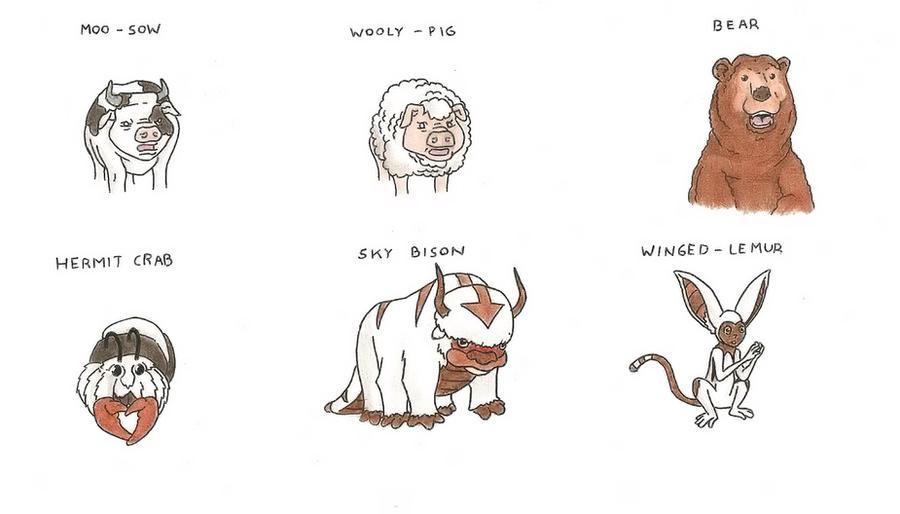 Avatar Animals III by