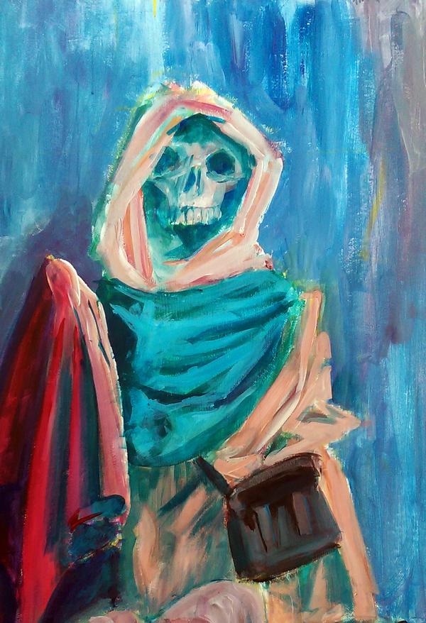Grim Reaper's Journey by wcqaguxa