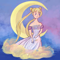 Princess Serenity by wcqaguxa