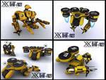 Drill - 827 mining droid