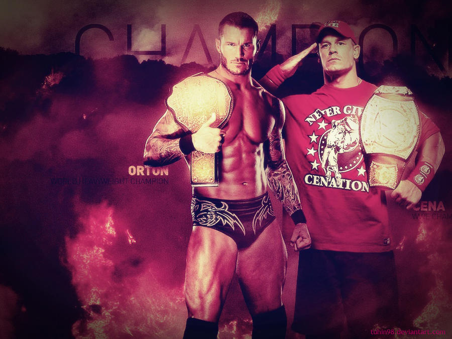 John Cena And Randy Orton Together