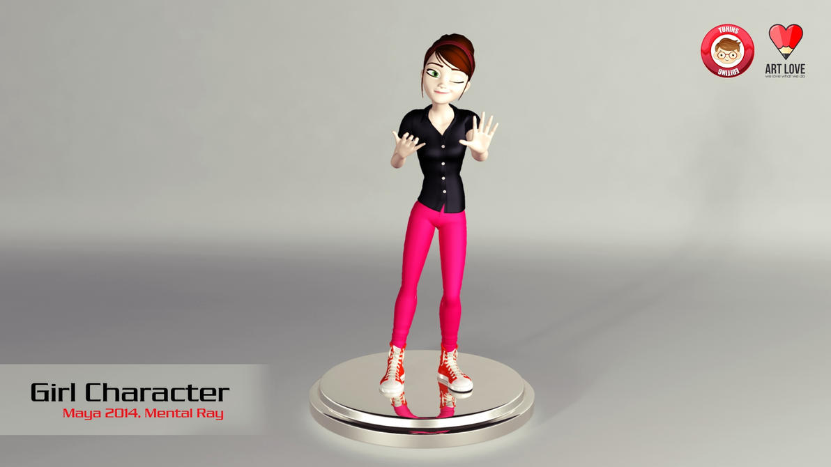 D Artiste Character Design Download : D character design tuhin s editing by