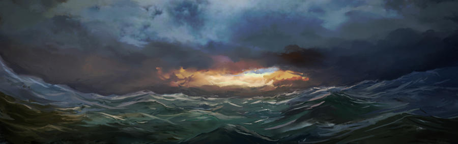Dangerous Sea - A Norse Adventure of Exploration by garyjsmith