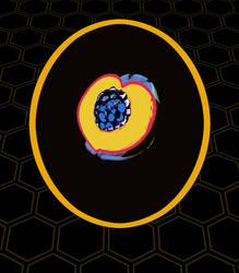 Peach Blackberry Honey Pilsner Label