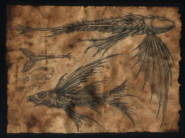 clockwork flying fish