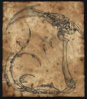 shaman's blood edge by damon-gear