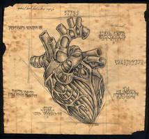 clockwork heart by damon-gear
