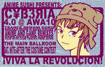 Cyberia at AWA10 flyer