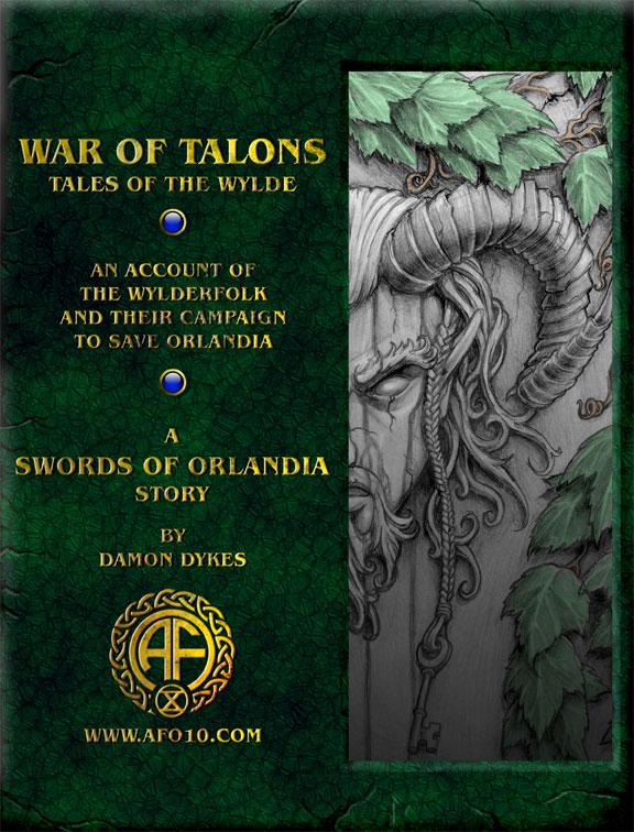 War of Talons Cover by damon-gear