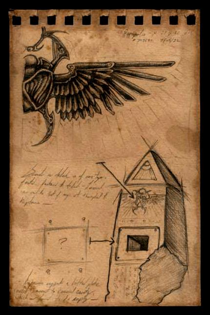 Necropolis Monolith Fragment by damon-gear