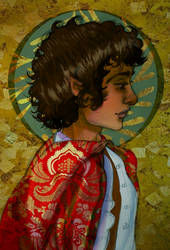 Frodo Baggins by Queen-Asante