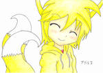 Tails as a human