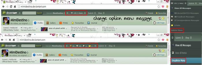 Change Option Menu Message by Mimi-Destino