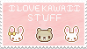 I Love Kawaii Stuff 2 Stamp by LiaxmmyArt