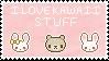 I Love Kawaii Stuff 2 Stamp by MimiDestino