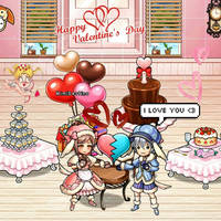 Happy Valentines day - Feliz San Valentin by Mimi-Destino