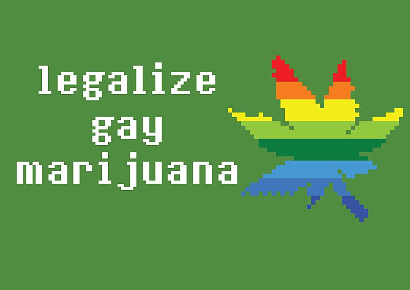 Gay Marijuana by HolyRamsele